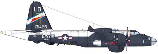 Lockheed P2v Neptune Patrol Colour Schemes 1959