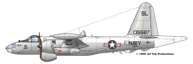 SP-2H of VAH-21 Gull Grey and White